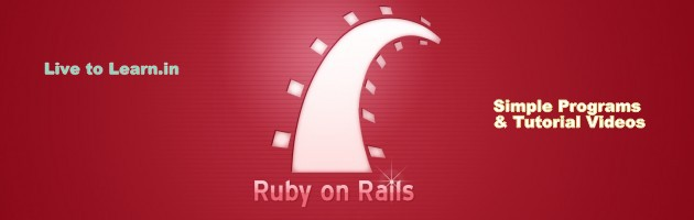 Ruby and Rails | Live to Learn!